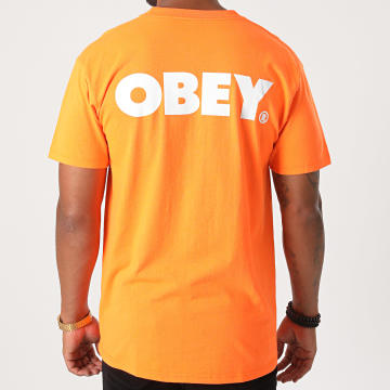 Obey - Tee Shirt Bold Orange