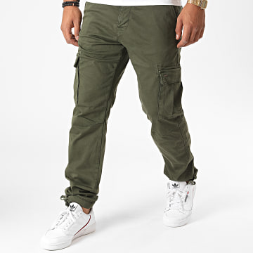 Only And Sons - Pantalon Chino Will Life Vert Kaki
