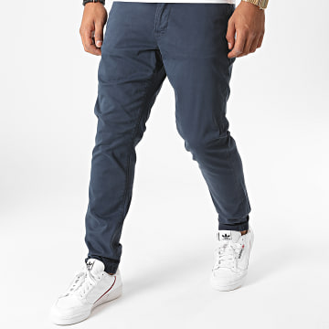 Only And Sons - Pantalon Chino Will Life Bleu Marine
