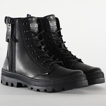 Palladium - Boots Femme Boss 96840 Black Silver