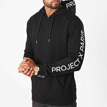 Project X - Sweat Capuche 2020073 Noir