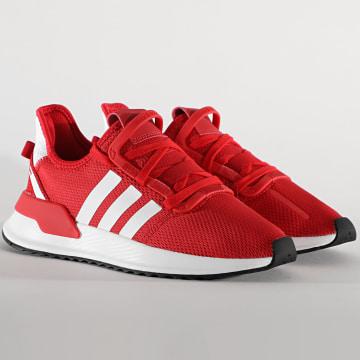 Adidas Originals - Baskets Femme U Path Run FW0434 Scarlet Footwear White Core Black