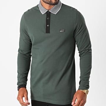 Jack And Jones - Polo Manches Longues Charming Vert