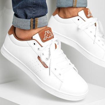 Kappa - Baskets Tchouri 3117LIW White Brown