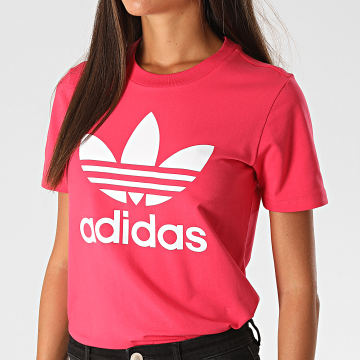 Adidas Originals - Tee Shirt Femme Trefoil GD2312 Rose Fushia