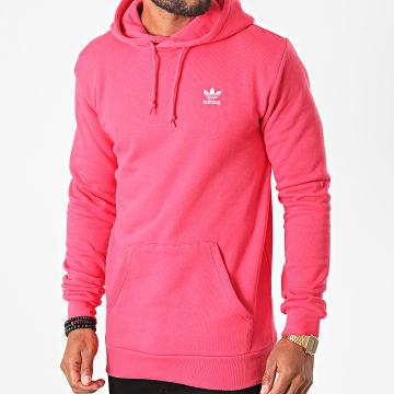 Adidas Originals - Sweat Capuche Essential GD2566 Rose Fushia
