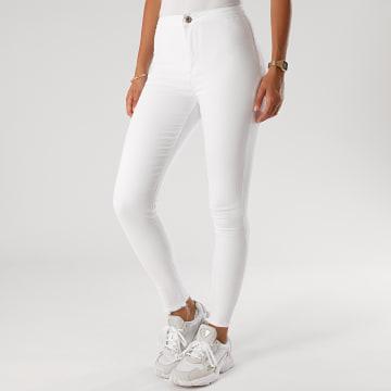 Girls Only - Jean Skinny Femme DZ356-8 Blanc