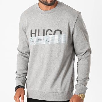 HUGO - Sweat Crewneck 50436126 Gris Chiné