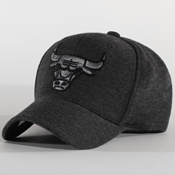 Mitchell and Ness - Casquette 110 Chicago Bulls Gris Anthracite