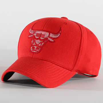 Mitchell and Ness - Casquette 110 Chicago Bulls Rouge