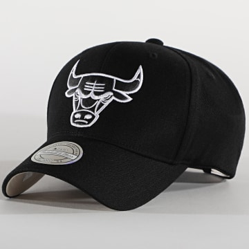 Mitchell and Ness - Casquette 110 Chicago Bulls Noir