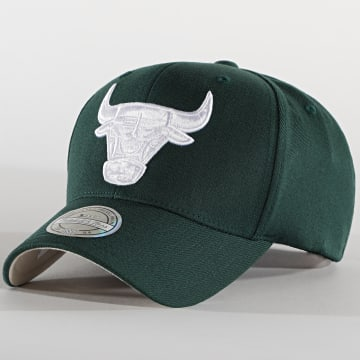 Mitchell and Ness - Casquette 110 Chicago Bulls Vert Anglais