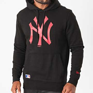 New Era - Sweat Capuche New York Yankees MLB Seasonal Team Logo 12485716 Noir Rouge