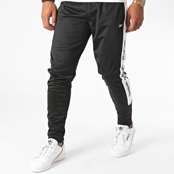 Reebok - Pantalon Jogging A Bandes FU3211 Noir