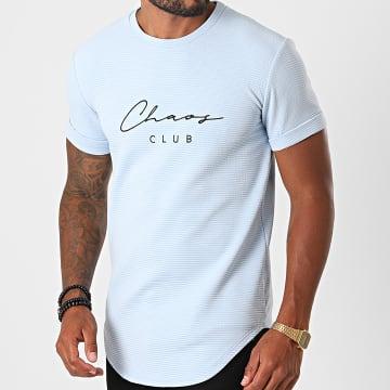 Uniplay - Tee Shirt Oversize UY506 Bleu Ciel