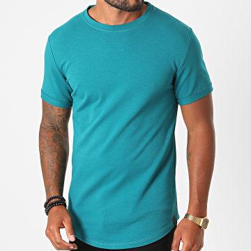 Uniplay - Tee Shirt Oversize UP-T311 Bleu Canard