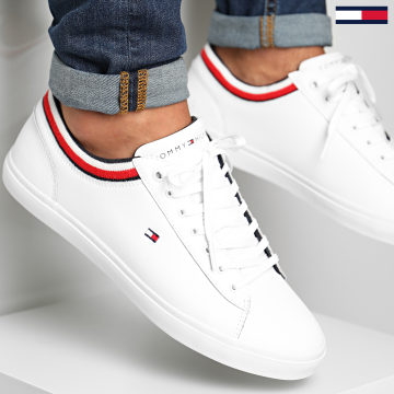 Tommy Hilfiger - Baskets Essential Leather 2978 White