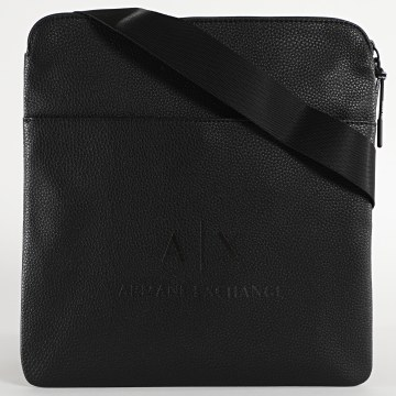 Armani Exchange - Sacoche Medium Flat Crossbody 952137-CC352 Noir