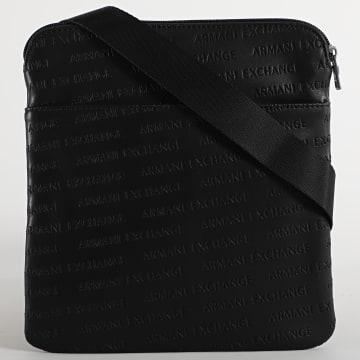 Armani Exchange - Sacoche Flat Messenger 952082-CC348 Noir