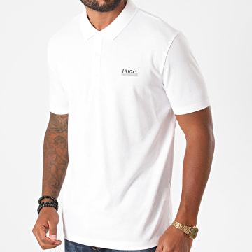 HUGO - Polo Manches Courtes Dovoy 50436438 Blanc