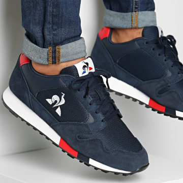 Le Coq Sportif - Baskets Manta 2020297 Dress Blues Pure Red