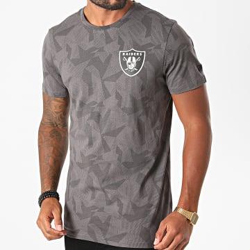 New Era - Tee Shirt Las Vegas Raiders Geometric Camouflage 12485737 Gris