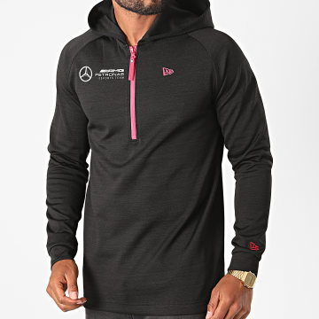 New Era - Sweat Col Zippé Capuche AMG Petronas 12516564 Noir