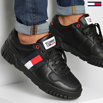 Tommy Hilfiger - Baskets Retro Tommy Jeans Sneakers 0575 Black