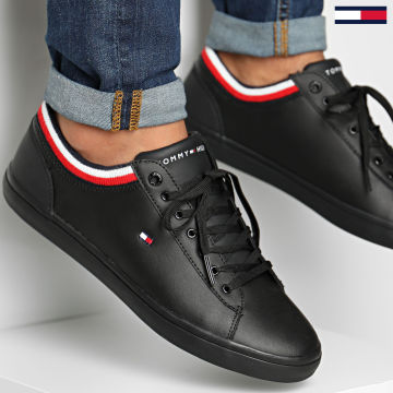 Tommy Hilfiger - Baskets Essential Leather Vulcan FM0FM02378 Black