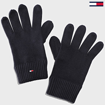 Tommy Hilfiger - Gants Pima Cotton 6591 Bleu Marine