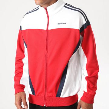 Adidas Originals - Veste Zippée Tricolore Classics GD2063 Rouge Blanc