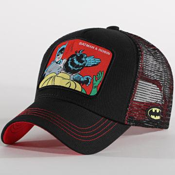 Capslab - Casquette Trucker Batman Et Robin Noir