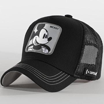 Capslab - Casquette Trucker Mickey Noir