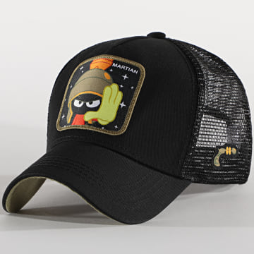 Capslab - Casquette Trucker Martian Noir