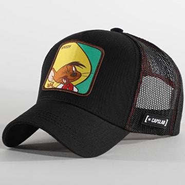 Capslab - Casquette Trucker Speedy Noir