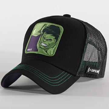 Capslab - Casquette Trucker Hulk Noir