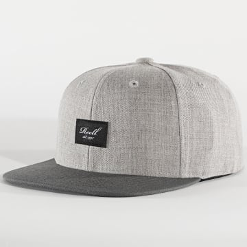 Reell Jeans - Casquette Snapback Heather Gris