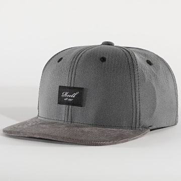 Reell Jeans - Casquette Snapback Pitch Out Gris