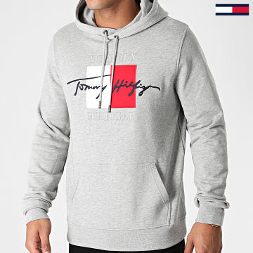 Tommy Hilfiger - Sweat Capuche Signature Artwork 4202 Blanc