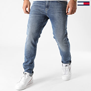 Tommy Jeans - Jean Slim Rayan Relaxed Straight 8256 Bleu Denim
