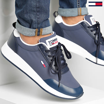 Tommy Hilfiger - Baskets Flexi Mix Runner 0579 Twilight Navy