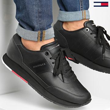 Tommy Hilfiger - Baskets Corporate Leather Runner 2996 Black