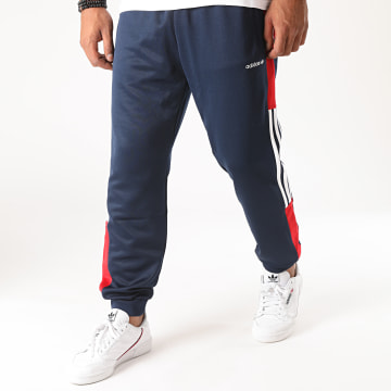 Adidas Originals - Pantalon Jogging Tricolore A Bandes Classics TP GD2066 Bleu Marine Rouge