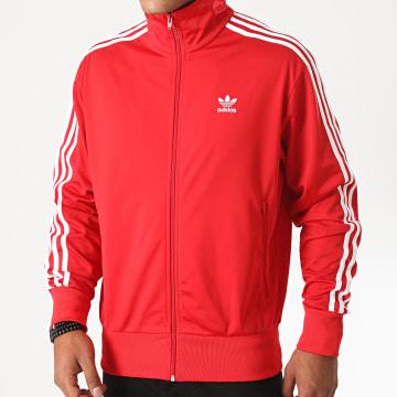 Adidas Originals - Veste Zippée A Bandes Firebird GF0211 Rouge