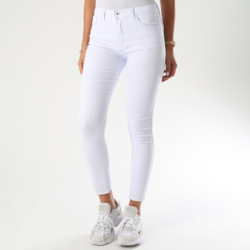 Girls Only - Jean Skinny Femme A2006-2 Blanc