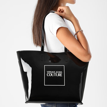 Versace Jeans Couture - Ensemble Sac A Main Et Pochette Femme VZABH6 Noir
