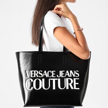 Versace Jeans Couture - Ensemble Sac A Main Et Pochette Femme VZABP6 Noir