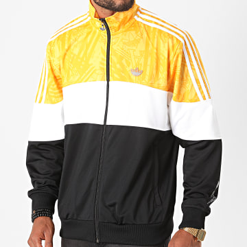 Adidas Originals - Veste Zippée A Bandes BX-20 GD5784 Jaune Noir Blanc