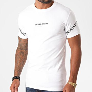 Calvin Klein - Tee Shirt Stretch Logo 6465 Blanc