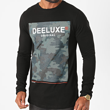 Deeluxe - Tee Shirt Manches Longues Oversize Kuro Noir